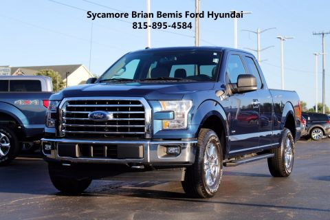 Pre-Owned 2017 Ford F-150 XLT 4WD Extended Cab Pickup