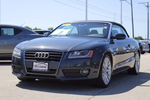 Pre-Owned 2011 Audi A5 2.0T Premium Plus AWD Convertible